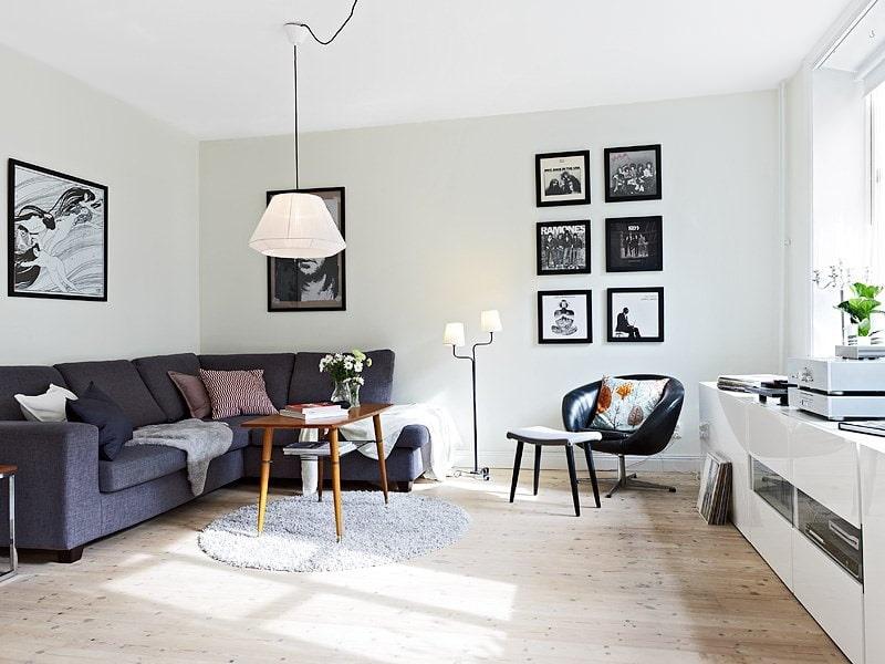квартира в скандинавском стиле фото декора