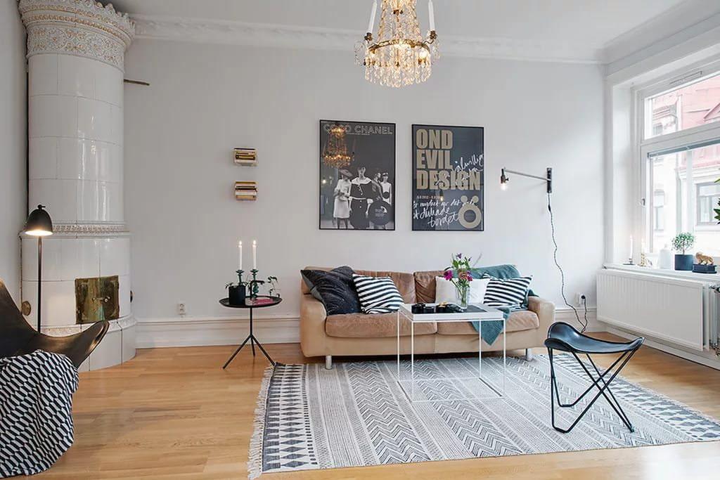 квартира в скандинавском стиле виды фото