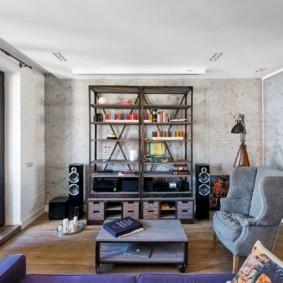 лофт в квартире творческий подход