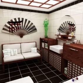 квартира в японском стиле фото декор