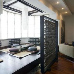 квартира в японском стиле виды дизайна