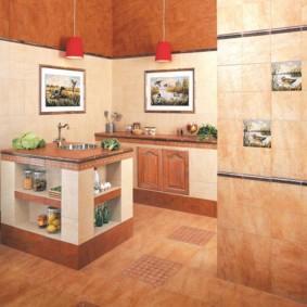 линолеум для кухни фото декора