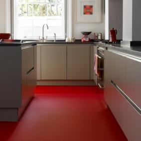 линолеум для кухни фото варианты
