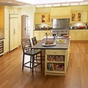 линолеум для кухни фото видов