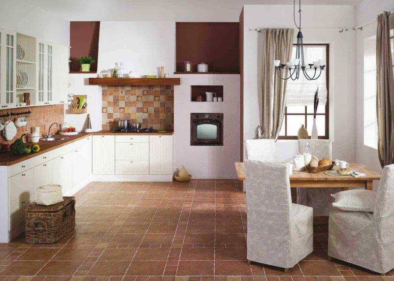 линолеум для кухни идеи фото