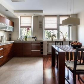 линолеум для кухни идеи интерьер
