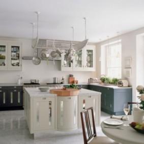 линолеум для кухни идеи интерьера