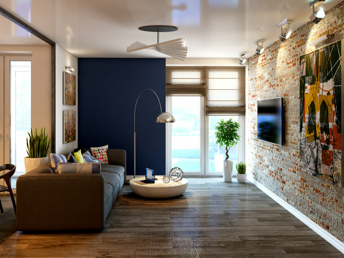 лофт в квартире декор