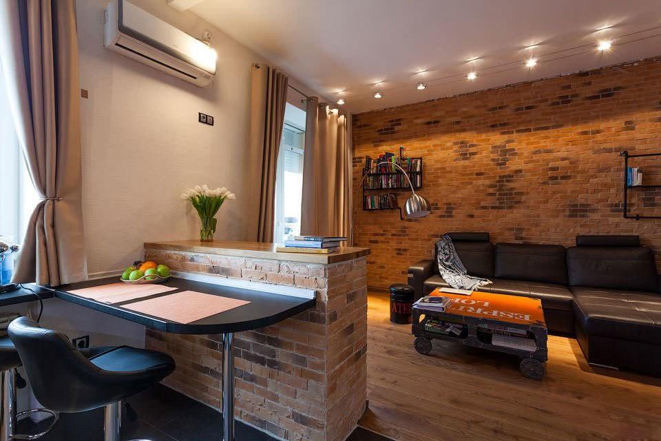 лофт в квартире дизайн интерьера