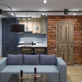 лофт в квартире фото дизайн