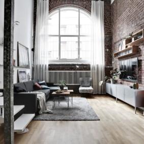 лофт в квартире фото дизайна