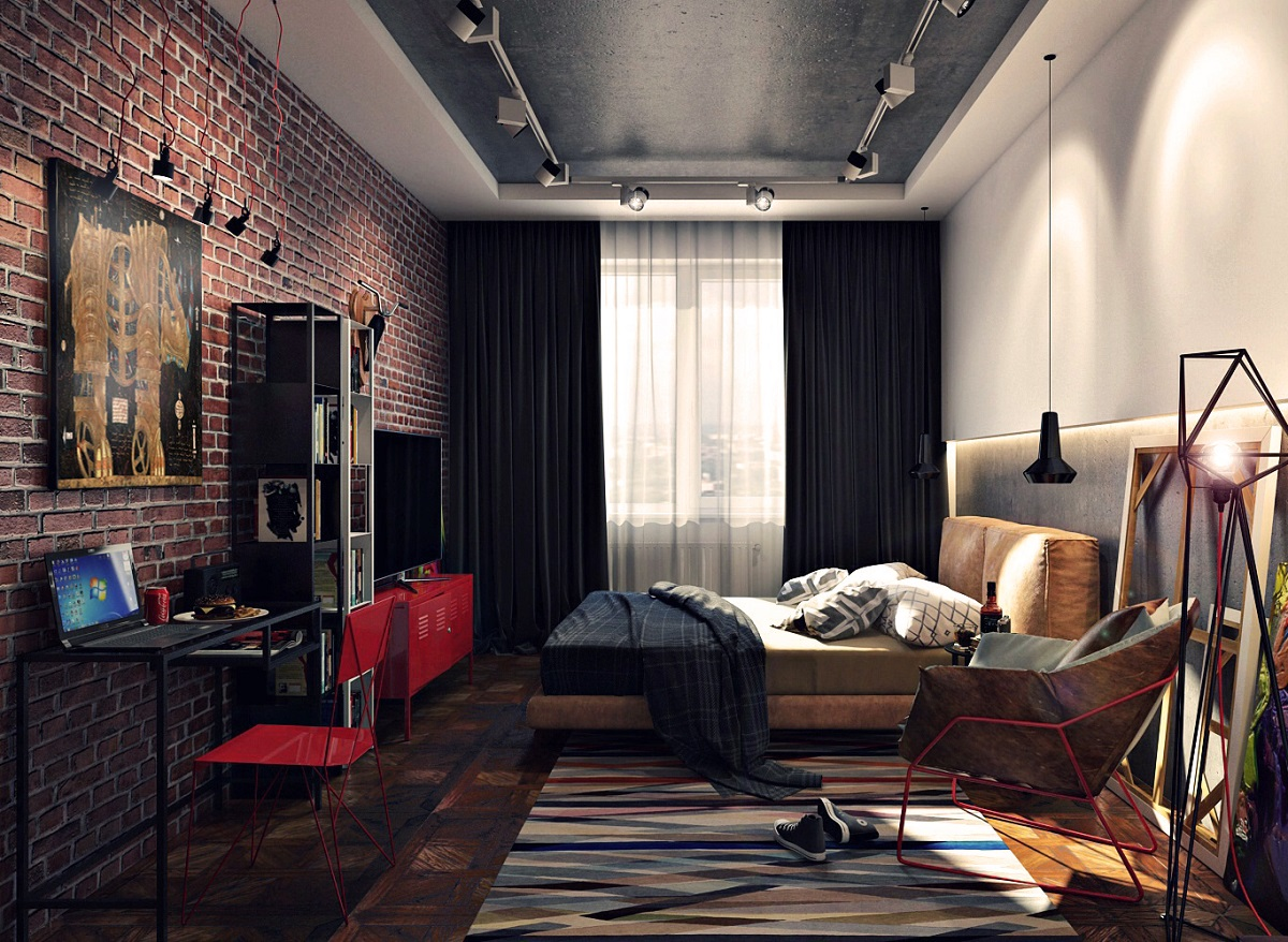 лофт в квартире идеи дизайна