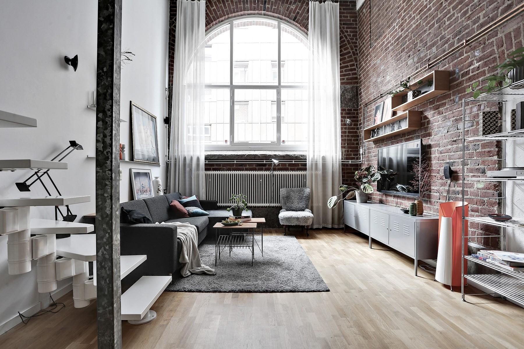 лофт в маленькой квартире фото дизайна