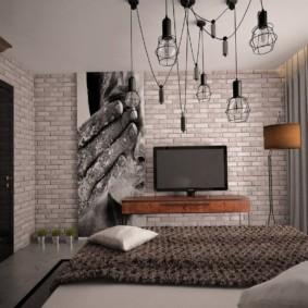 лофт в маленькой квартире идеи декора
