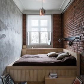 лофт в маленькой квартире идеи оформление