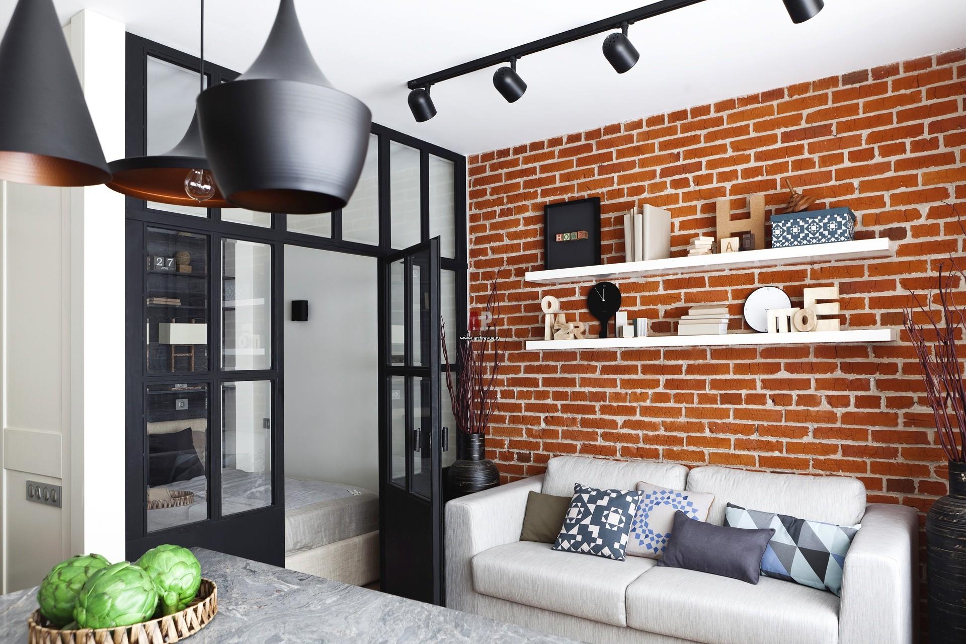 лофт в маленькой квартире идеи