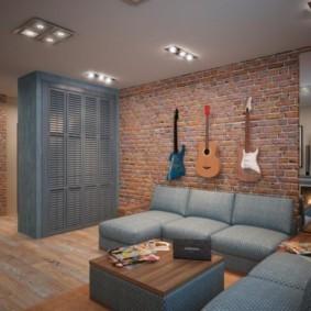лофт в маленькой квартире обзор идеи
