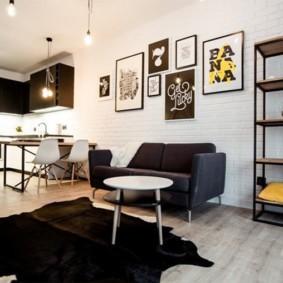 лофт в маленькой квартире варианты идей