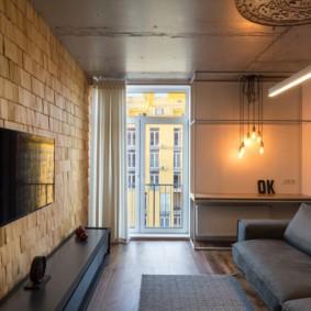 лофт в маленькой квартире виды фото