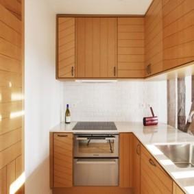 Ламинированные фасады кухонного гарнитура