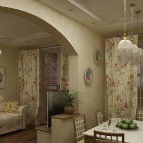 маленькая кухня гостиная фото дизайна
