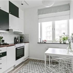 маленькая кухня с кухонным столом идеи вариантов
