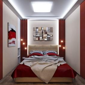 спальня 5 кв м декор идеи