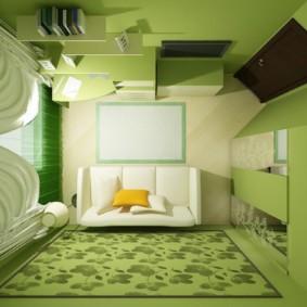 спальня 5 кв м фото декор