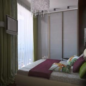 спальня 5 кв м фото дизайн