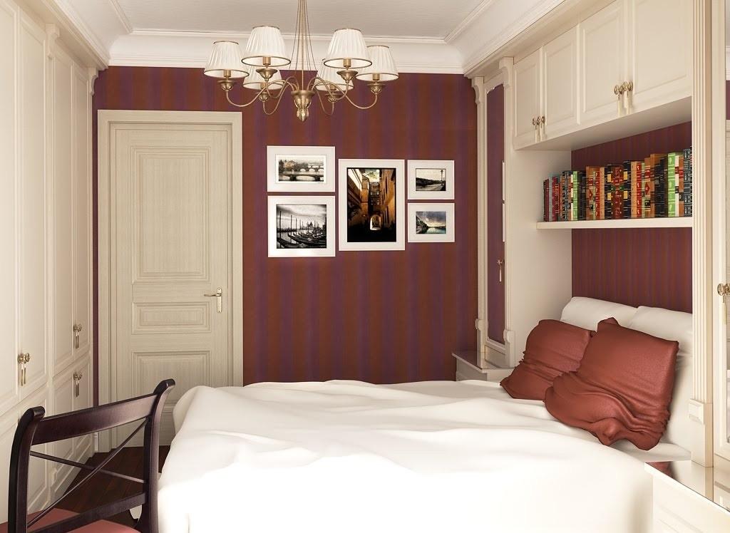 спальня 5 кв м фото интерьер