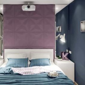 спальня 5 кв м фото интерьера