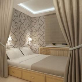 спальня 5 кв м идеи варианты