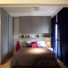 спальня 5 кв м интерьер фото