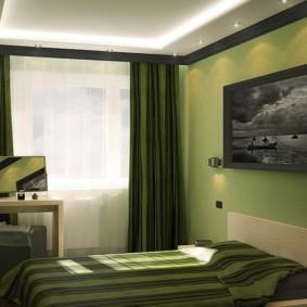 спальня 5 кв м варианты идеи