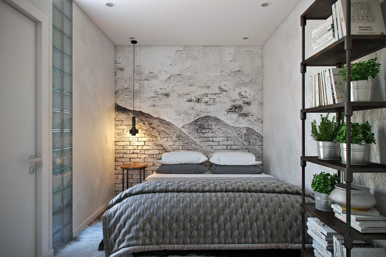 маленькая спальня 5 кв м