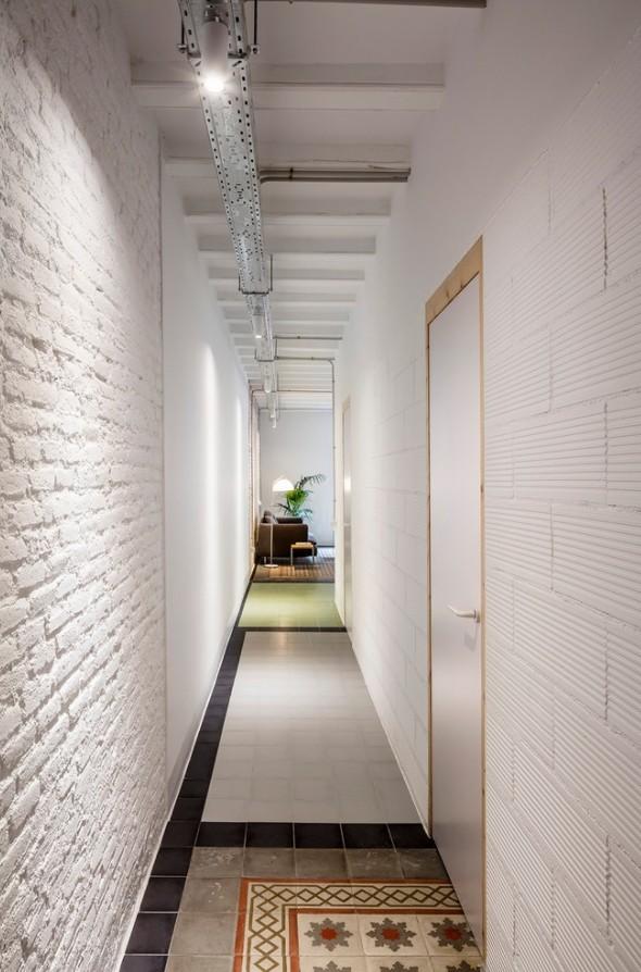 длинный коридор варианты интерьера