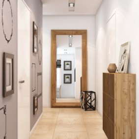 длинный коридор в квартире дизайн идеи