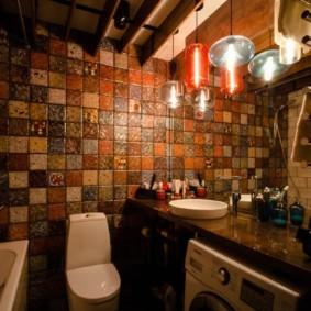 Ванная комната в стиле лофта