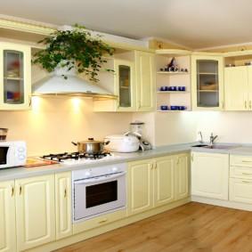 материалы для кухонного гарнитура декор фото