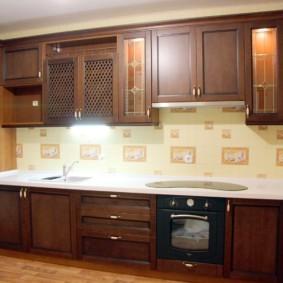 материалы для кухонного гарнитура декор идеи