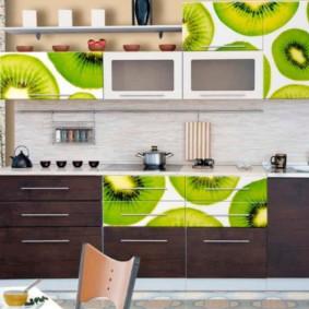 материалы для кухонного гарнитура фото декор
