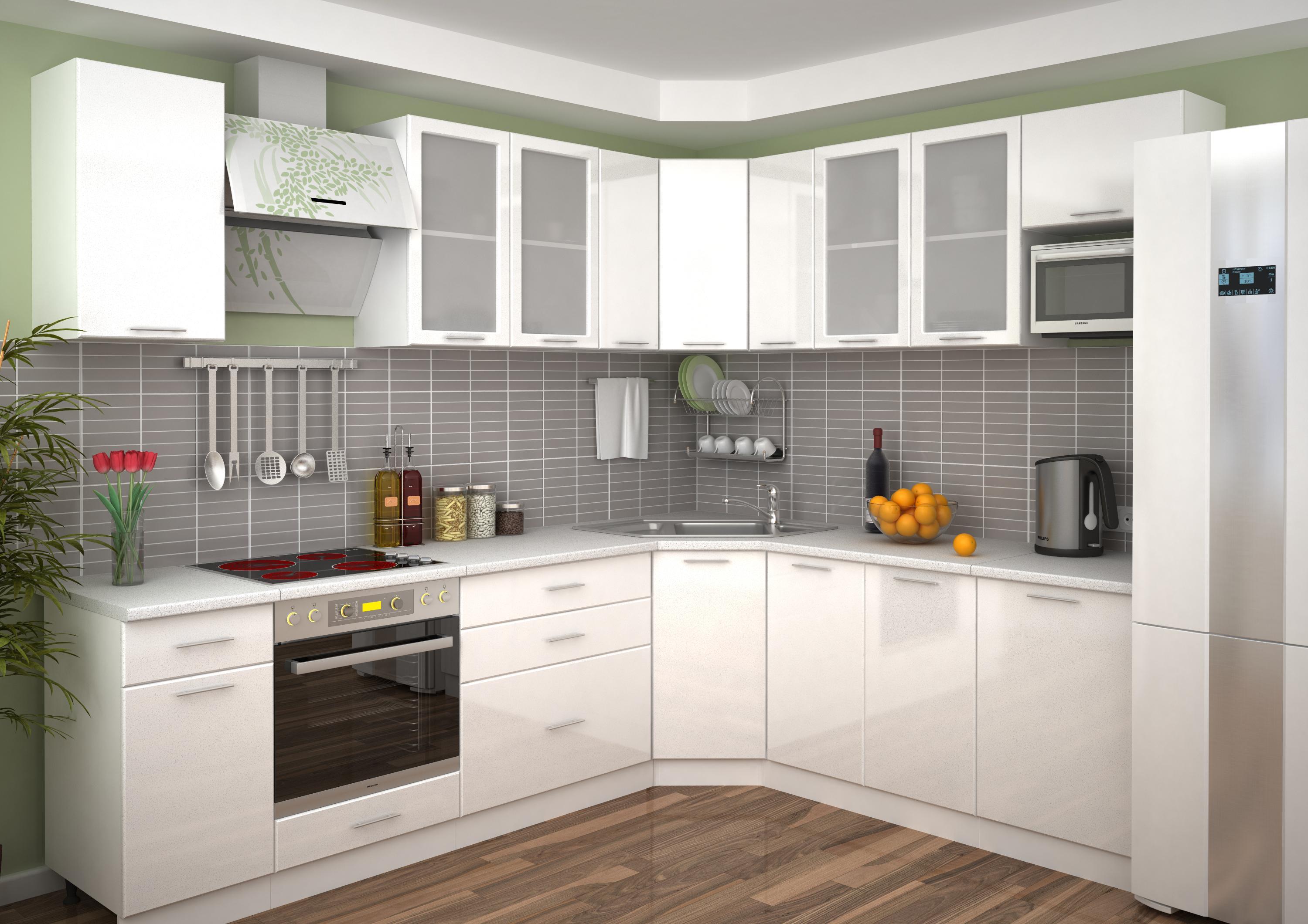материалы для кухонного гарнитура фото декора