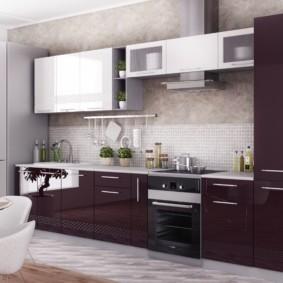 материалы для кухонного гарнитура фото дизайн