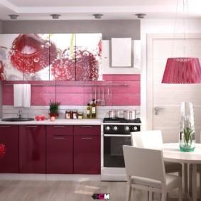 материалы для кухонного гарнитура фото дизайна