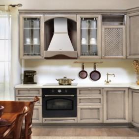 материалы для кухонного гарнитура фото идеи