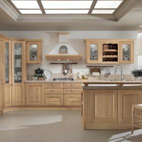 материалы для кухонного гарнитура фото оформления