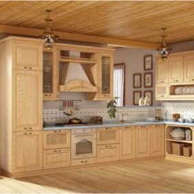 материалы для кухонного гарнитура фото видов