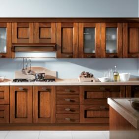 материалы для кухонного гарнитура идеи декора