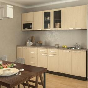 материалы для кухонного гарнитура идеи дизайн
