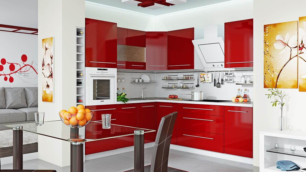 материалы для кухонного гарнитура идеи интерьера